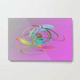 Power and positive energy, 16 Metal Print