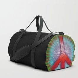 Starburst Peace Sign Duffle Bag