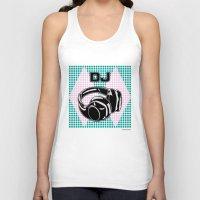 dj Tank Tops featuring DJ by Şemsa Bilge (Semsa Fashion)