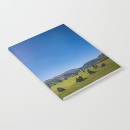 Castlerigg Stone Circle in English Lake District Notebook