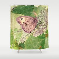 camouflage Shower Curtains featuring Camouflage by Stecker Photographie