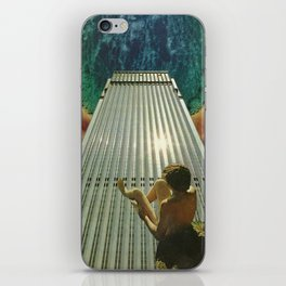 Rest My Toes On The Horizon iPhone Skin