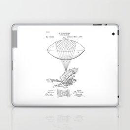 patent art Spalding Flying Machine 1889 Laptop & iPad Skin