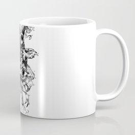 Graphic face Coffee Mug