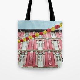 Colonial Facade Tote Bag