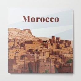 Morocco Metal Print