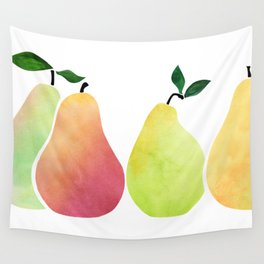 Fresh Pears Wall Tapestry