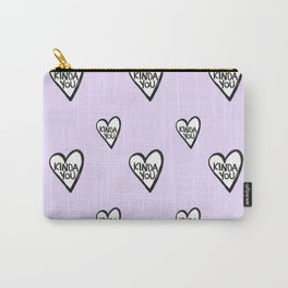 KINDA YOU PURPLE Carry-All Pouch
