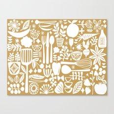 mod kitchen Canvas Print