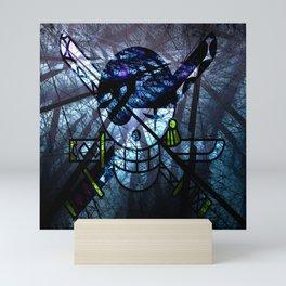 Pirates Flag with Dark Forest 8 Mini Art Print