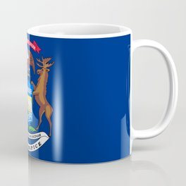 Michigan State Flag Coffee Mug