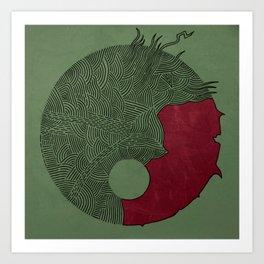 Strange Cyrcle Art Print
