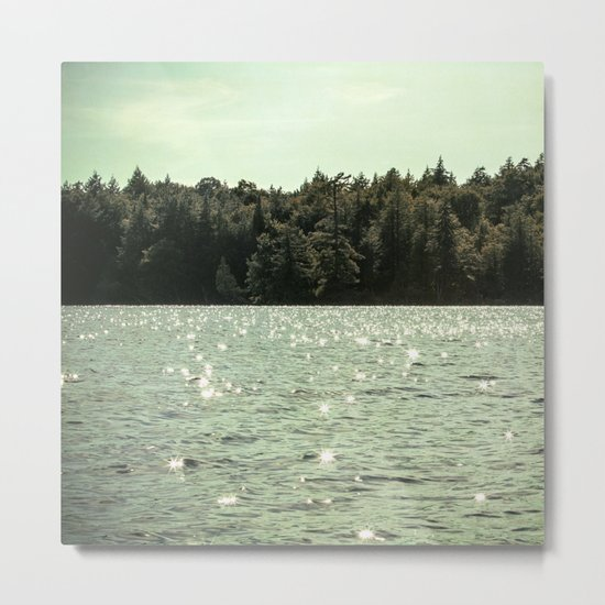 sparkling waters Metal Print