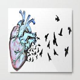 heart heals Metal Print