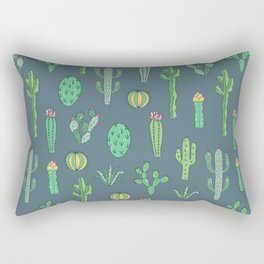 Cactus Pattern II Rectangular Pillow