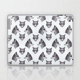 Mrs Fox Design B&W Laptop & iPad Skin