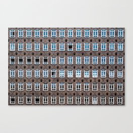 Oh! these windows!!! Canvas Print