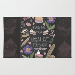 Every Day Is A Great Day For Baking Rug