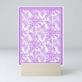 Radiant Orchid Tea Reversed Mini Art Print