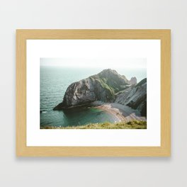 Durdle Door 2 Framed Art Print