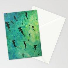 every week is shark week Stationery Cards