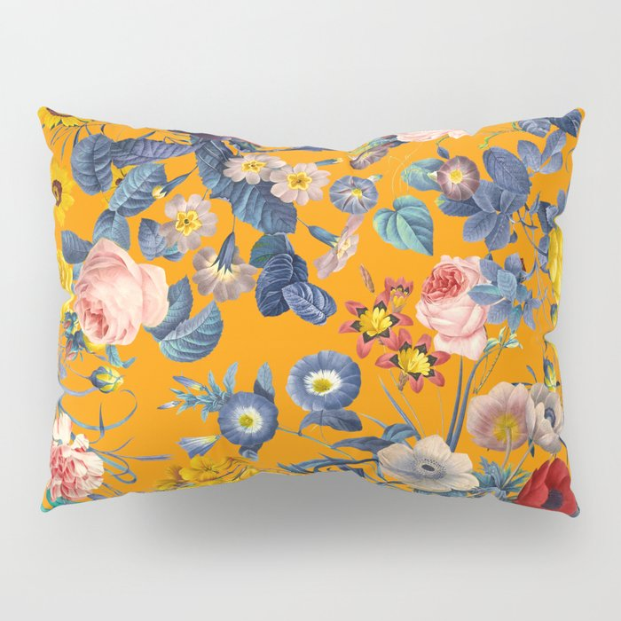 Summer Botanical Garden IX Pillow Sham