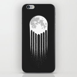 Moon-City iPhone Skin