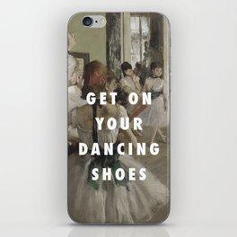 La Classe de Chaussures iPhone Skin