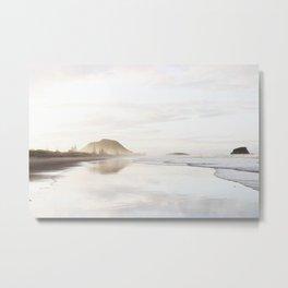 Mount Maunganui Metal Print