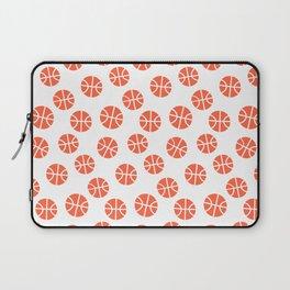 Basketball Pattern Laptop Sleeve