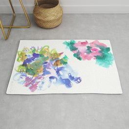 180802 Beautiful Rejection  4| Colorful Abstract Rug