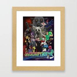 Super Duper Awesome JackSepticEye Poster Framed Art Print