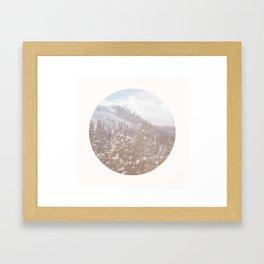 On My Way Home Framed Art Print