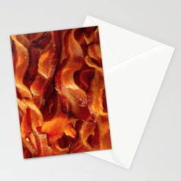 Bacon Stationery Cards