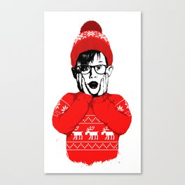 home alone Canvas Print