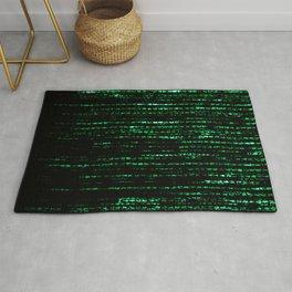 The Matrix Code Rug