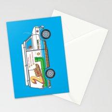 2 Bros. Plumbing Van Stationery Cards