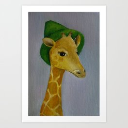 Rain on the Serengeti Art Print