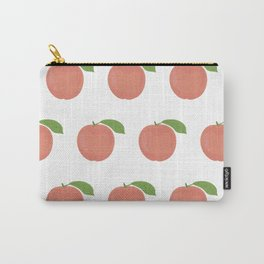 Orange Peaches Carry-All Pouch