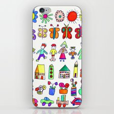 children at home iPhone & iPod Skin