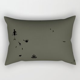 tutti frutti 02 Rectangular Pillow