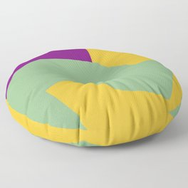 Minimalism Abstract Colors #15 Floor Pillow