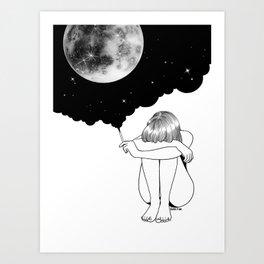 3 Minute Galaxy Art Print