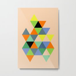 Abstract #693 Metal Print