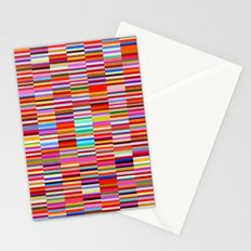 Paperback Book Stack Stationery Cards
