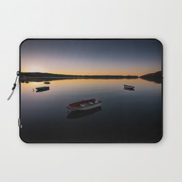 Sunrise over Knysna Lagoon in Western Cape, South Africa Laptop Sleeve