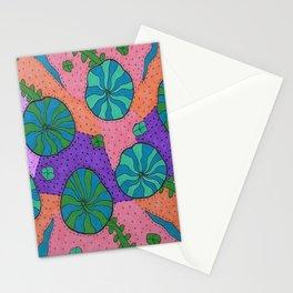 Retro Sea Garden Stationery Cards