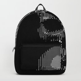 Squared Off Skull Backpack