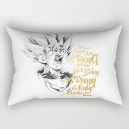 Dragonball Z - Strenth Rectangular Pillow