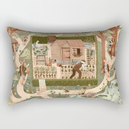 Beatrix's Friends Rectangular Pillow